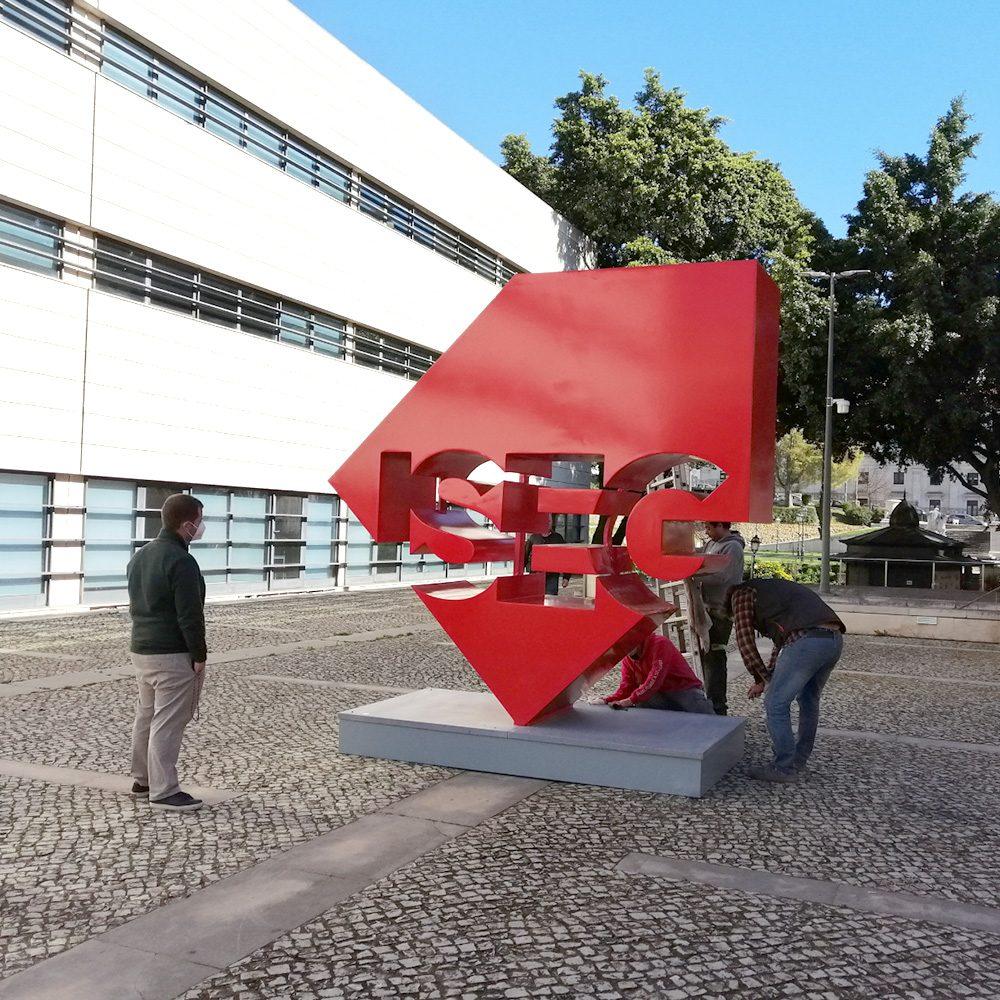 © Xcut - Logotipo ISEG 3D